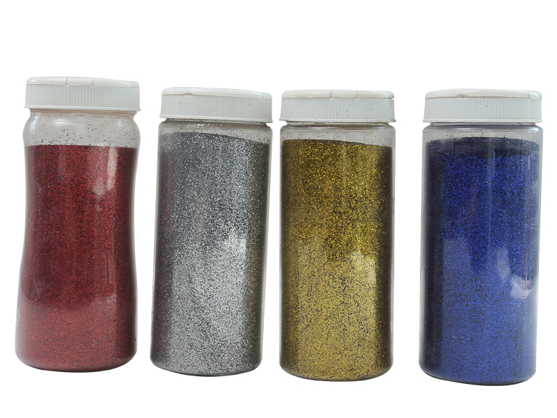 Flower tray Glitter powder