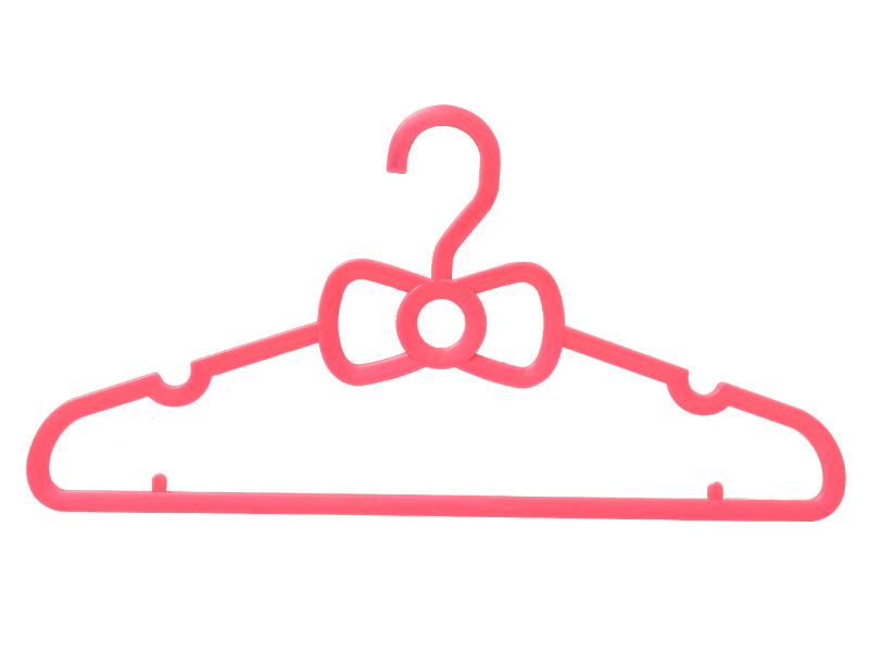 Pink bow hanger BW-1801