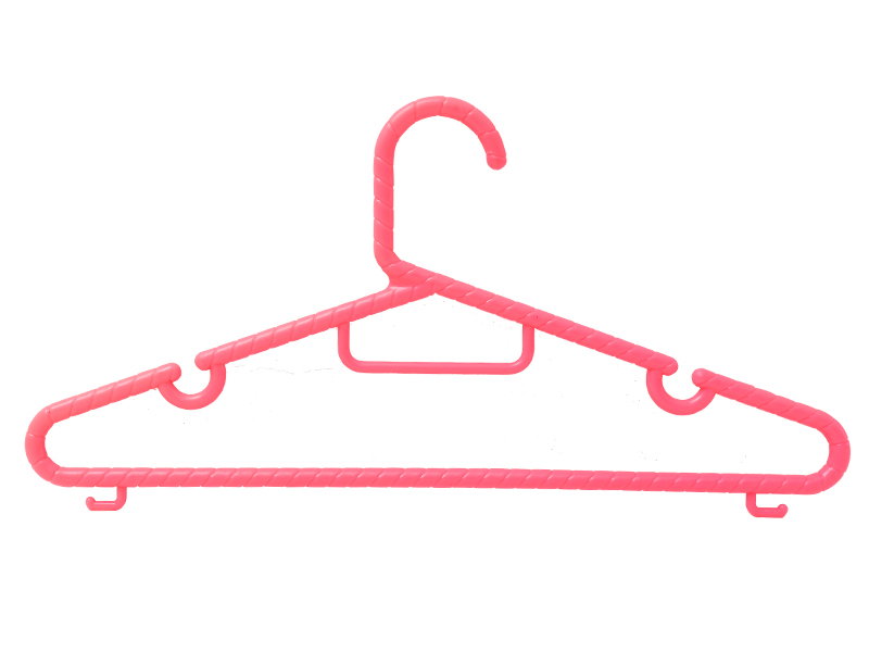 Red plastic Hanger series BW-1808